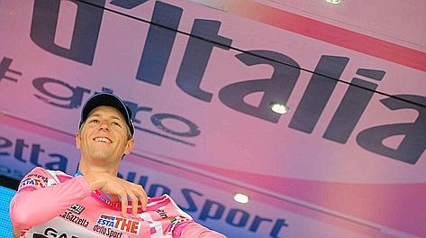 Hesjedal sul podio di Milano