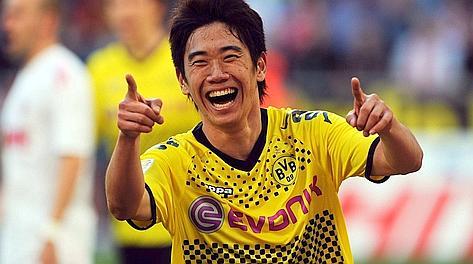 Shinji Kagawa, 23 anni. Afp