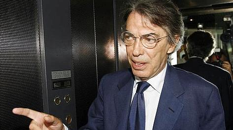 Massimo Moratti, 67 anni. Ansa