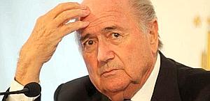 Sepp Blatter, presidente della Fifa. Epa