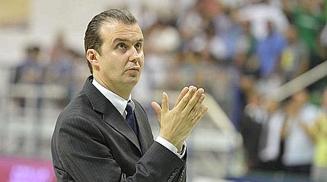 Simone Piangiani, 43 anni, gli ultimi 16 a Siena prima nello staff poi come capo allenatore. LaPresse