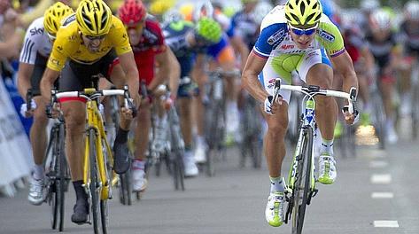 Sagan lanciato verso la vittoria