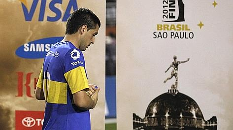 La tristezza di Juan Roman Riquelme. Ap