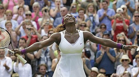 Serena Williams, 4 successi a Wimbledon. Ap