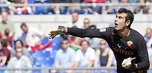 Gianluca Curci, 26 anni, con la maglia della Roma. Eidon