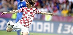Luka Modric, 26 anni. Epa