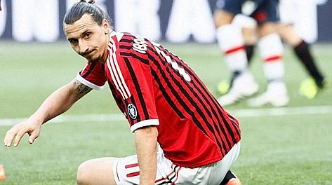 Zlatan Ibrahimovic, 30 anni. LaPresse
