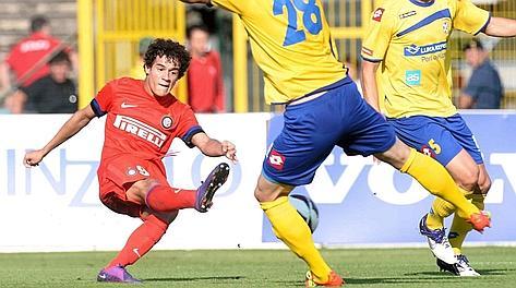 Il gol del 2-0 di Coutinho. Photoviews