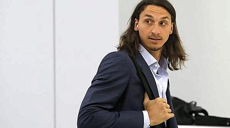Zlatan Ibrahimovic, 30 anni. Ansa