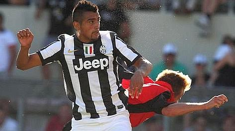 Arturo Vidal, 25 anni, 7 gol alla prima stagione in A. LaPresse