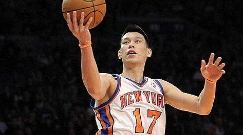 Jeremy Lin, 23 anni, 14,6 punti di media con i Knicks nel 11-12. Ap