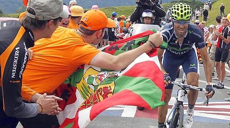Valverde lanciato verso la vittoria