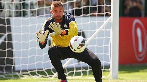 Marco Storari, 35 anni, alla Juve dal 2010. Lapresse