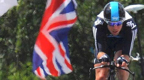 Mark Cavendish in azione
