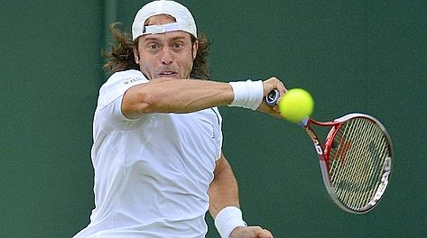 Paolo Lorenzi, 31 anni, romano: al 2 turno a L.A. Reuters
