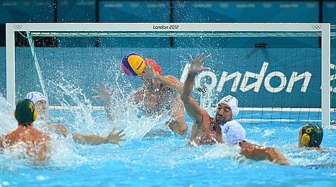 Olimpiadi Londra 2012. Pallanuoto uomini vince l'Italia