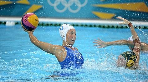 Olimpiadi Londra 2012.  Pallanuoto femminile. L'Italia cominci a male