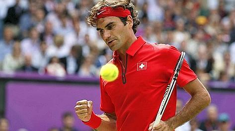 Roger Federer, vincitore di Wimbledon 2012. Reuters