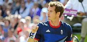 Andy Murray, cerca il successo olimpico, in casa. Reuters