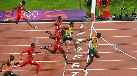 L'arrivo di Bolt in 9