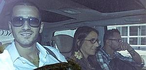 Leonardo Bonucci, primo piano, e Simone Pepe, sullo sfondo.Ansa