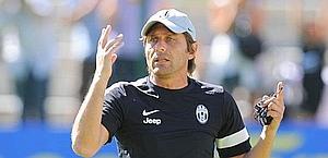 Antonio Conte, allenatore della Juventus. Ansa
