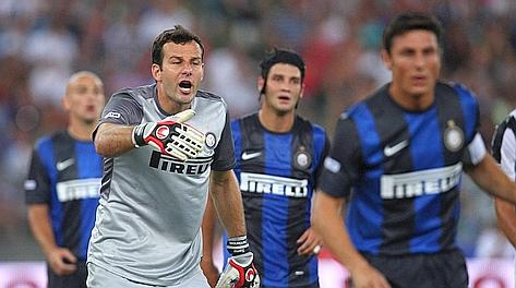 Samir Handanovic, 28 anni, prima stagione all'Inter. LaPresse