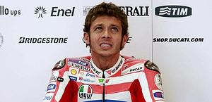 Valentino Rossi, 33 anni, seconda stagione con la Ducati. Reuters
