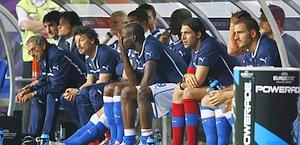La panchina lunga dell'Italia all'ultimo Europeo: da sabato anche in A ci saranno 12 riserve. Action Images
