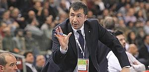 Luca Banchi, 47 anni, nuovo coach di Siena. Ciam/Cast