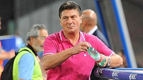 Walter Mazzarri, 50 anni, guida il Napoli dall'ottobre. Ansa