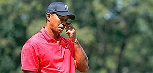 Tiger Woods, 36 anni., crollato nelle ultime 9 buche Afp