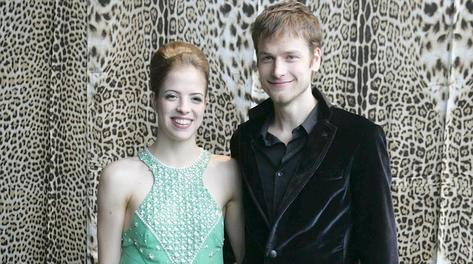 Carolina Kostner, 25 anni, e Alex Schwazer, 27. LaPresse