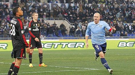 Tommaso Rocchi, 34 anni. Ansa