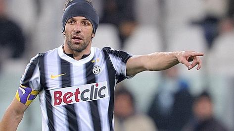 Alessandro Del Piero, 37 anni. LaPresse