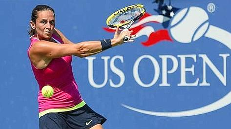 Roberta Vinci, numero 19 Wta. Ansa