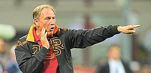 Zdenek Zeman, 65, coached Roma between 1997 and 1999. Ansa