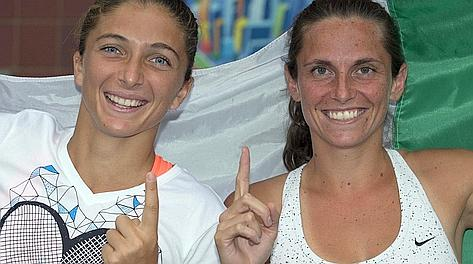 Sara Errani e Roberta Vinci, n.1 del doppio. Reuters