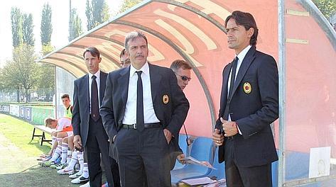 L'esordio di Filippo Inzaghi sulla panchina degli Allievi nazionali del Milan. IPP