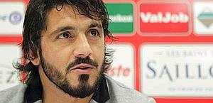 Gennaro Gattuso, 34 anni, primo anno al Sion. Epa