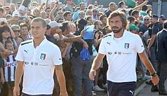 Pirlo come Del Piero91 volte con l'Italia
