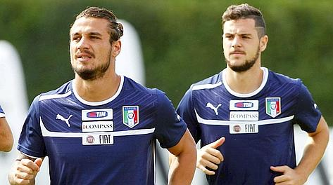Pablo Osvaldo, 26 anni, e Mattia Destro, 21. Ap
