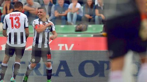 Ranegie e Di Natale: i match winner dell'Udinese. LaPresse