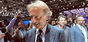 Il presidente della Ferrari Luca Montezemolo. Ansa