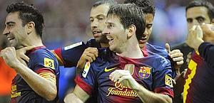 Lionel Messi, 25 anni, stella del Barcellona. Afp