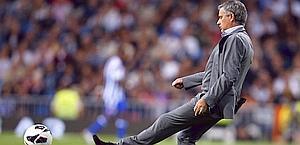 Mourinho ha vinto lo scudetto in Inghilterra, Itallia e Spagna. Afp