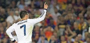 Cristiano Ronaldo, in gol negli ultimi 6 Clasicos. Ansa