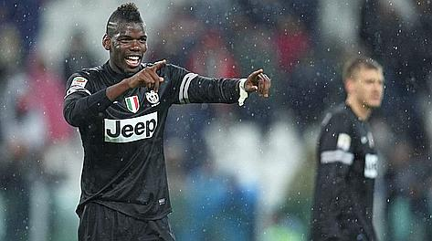 Paul Pogba, 19 anni, esulta dopo il 2-1 al Bologna. Lapresse