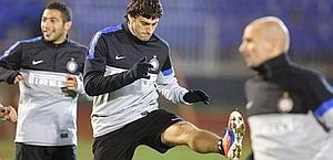 Diego Milito, riposo programmato in Europa league. Epa