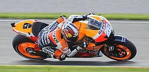 Dani Pedrosa, 27 anni, pilota Honda Hrc. Afp